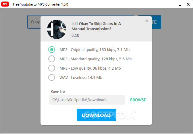 YouTube to MP3 Converter 4.3.54.819